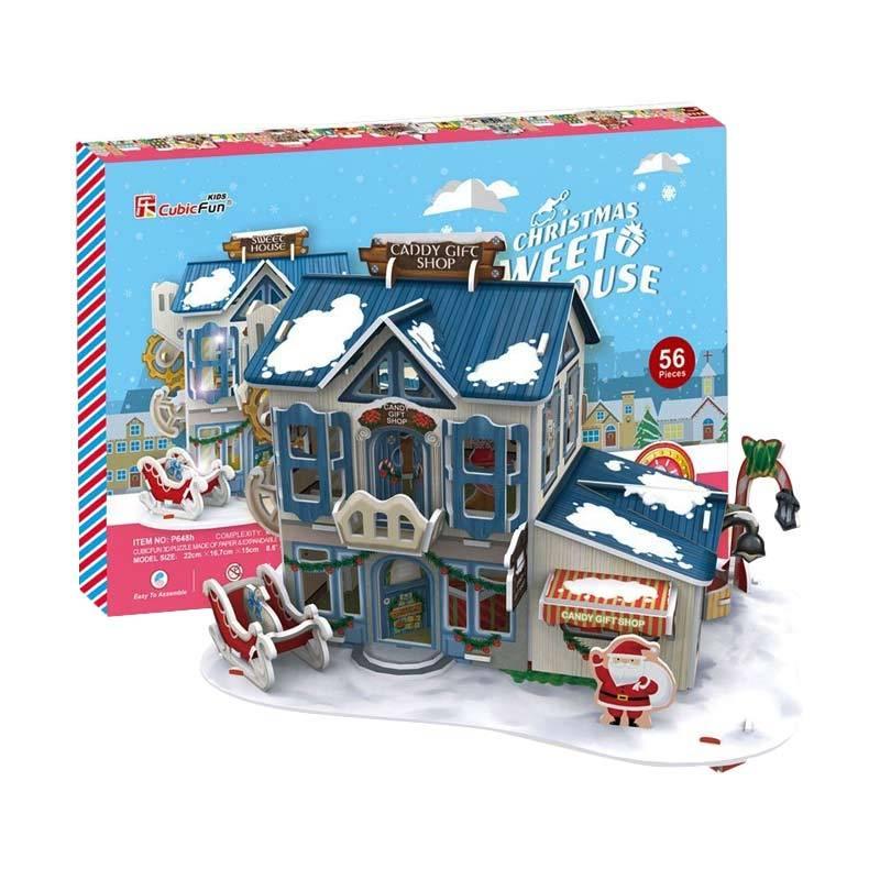 CubicFun P648h Christmas Sweet House