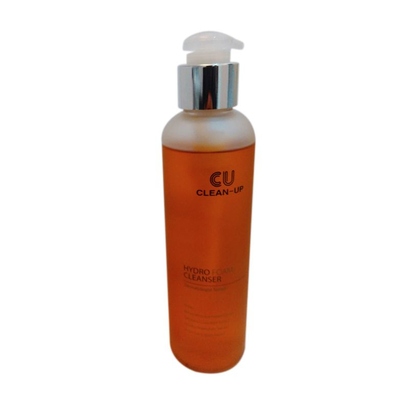 Cuskin Clean Up Hydro Foam Cleanser Pembersih Wajah [200 mL]