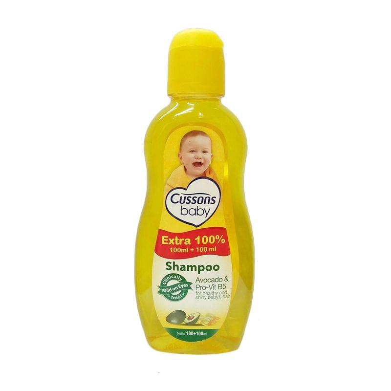 Cussons Baby Shampo Avocado n Pro-Vit B5 [100 mL]-3pcs