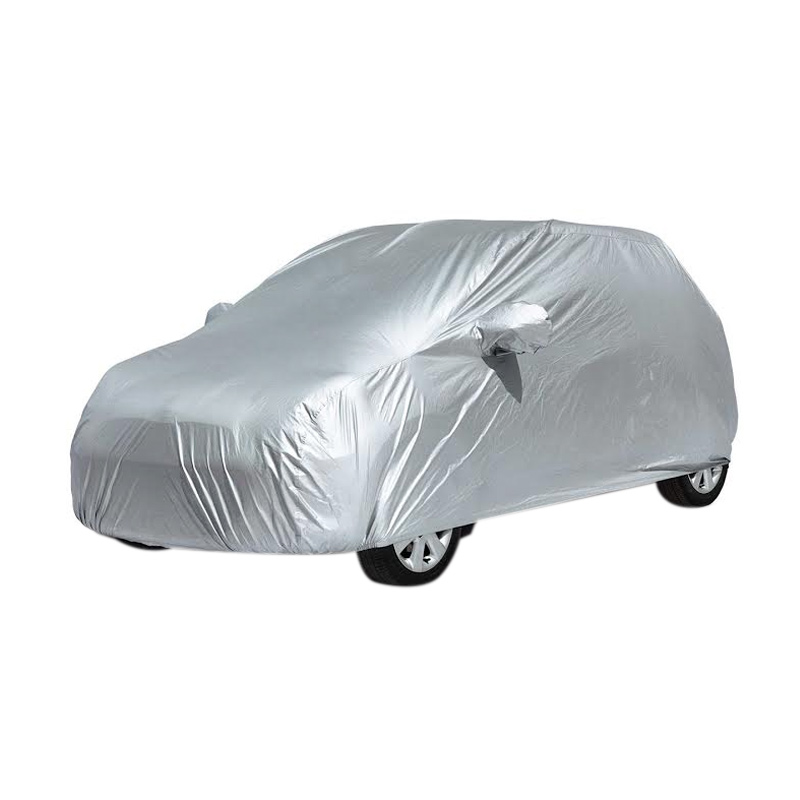 Custom Body Cover Mobil for Karimun Wagon R - Silver