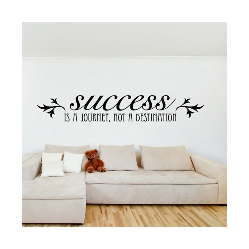 Cutnstick Wall Sticker 09 Hitam