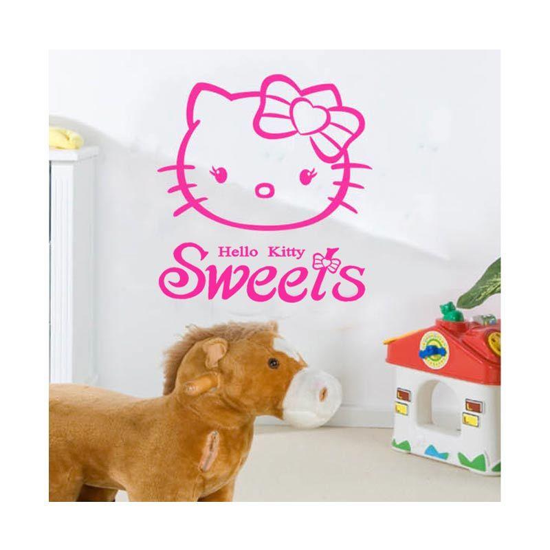 Cutnstick Wall Sticker 12 Pink