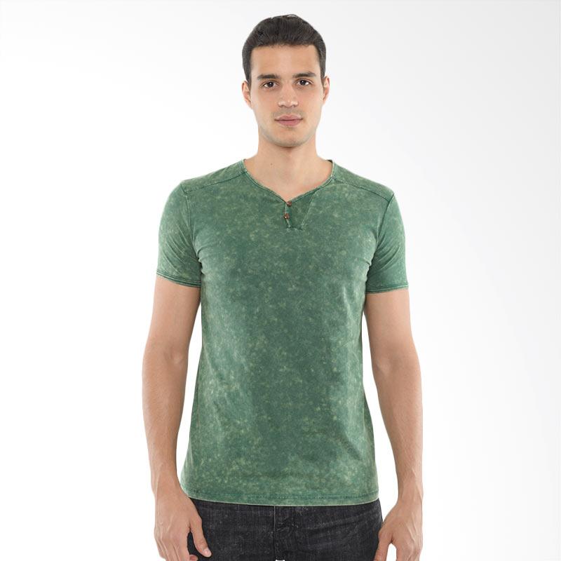 CVNL Classic Slimfit Henley Hijau Tshirt Kaos Pria Extra diskon 7% setiap hari Extra diskon 5% setiap hari Citibank – lebih hemat 10%