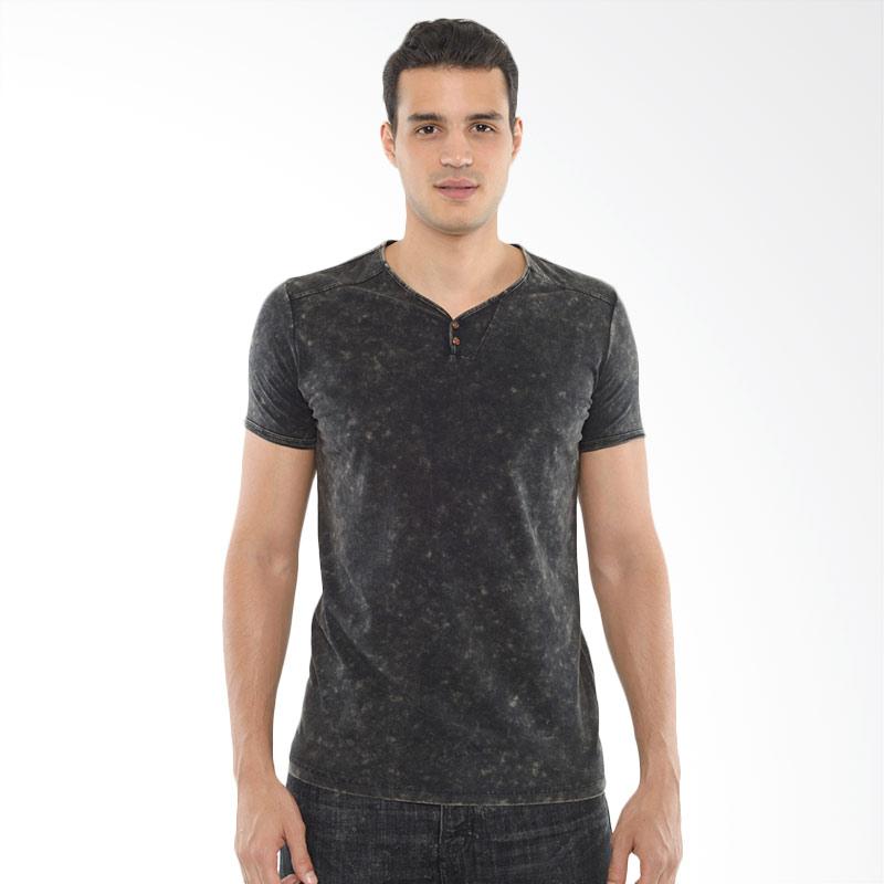 CVNL Classic Slimfit Henley Hitam Tshirt Kaos Pria Extra diskon 7% setiap hari Extra diskon 5% setiap hari Citibank – lebih hemat 10%