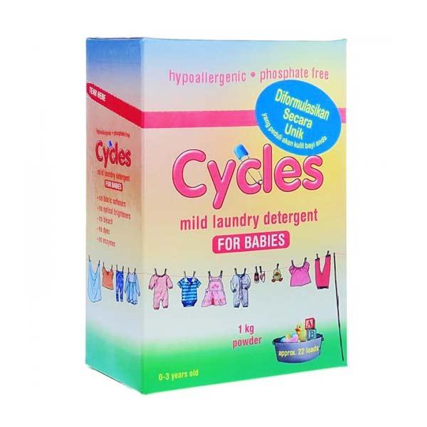 Cycles Mild Laundry Detergent [1 kg]