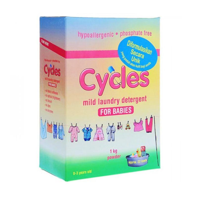 Cycles Mild Laundry Detergent [1Kg]