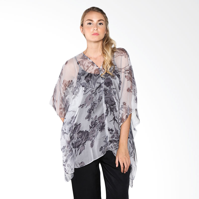 Cynara Studio BGF010G Blouse - Grey