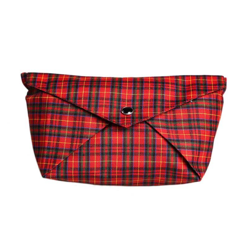 Cynara Studio Boat Pouch DB Kotak ME/HI Dompet - Black Red