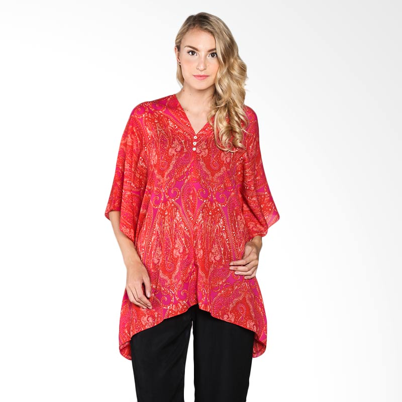 Cynara Studio BRP014P Blouse - Red