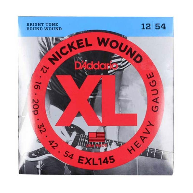D'Addario Nickel Wound 12-54
