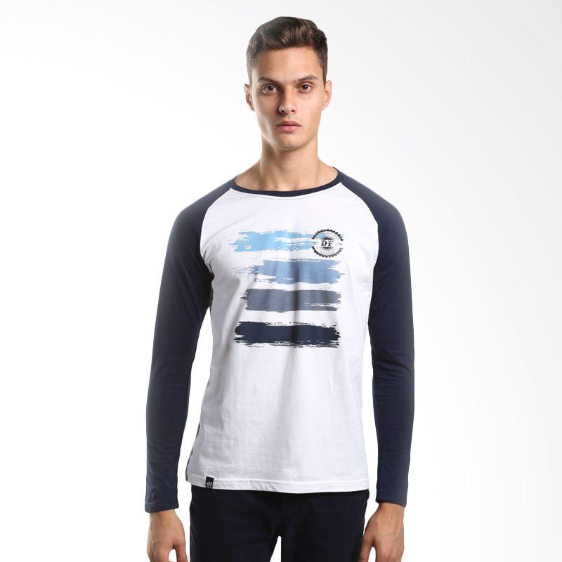 D&F Apparel Clothing 3115858 White T-shirt Pria