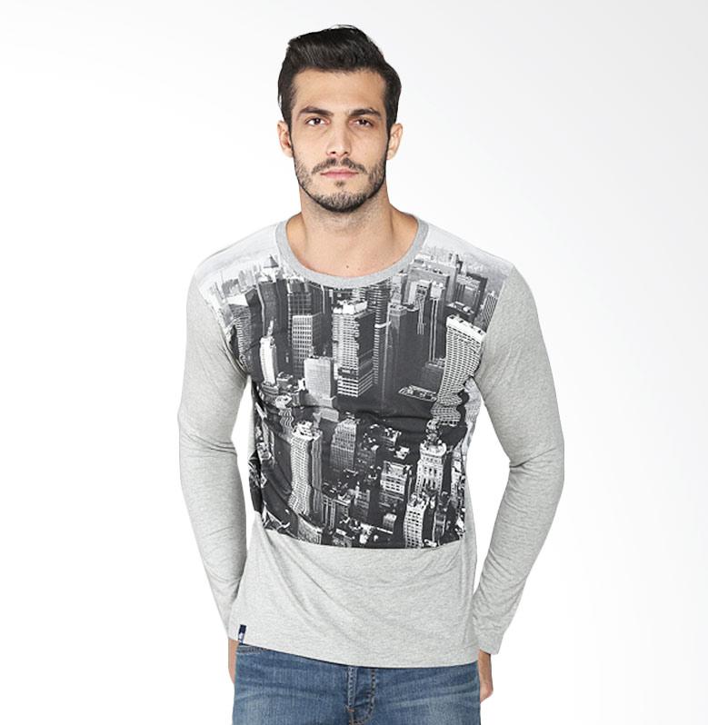 D&F 03126047 DF Town T-Shirt - Grey Extra diskon 7% setiap hari Extra diskon 5% setiap hari Citibank – lebih hemat 10%