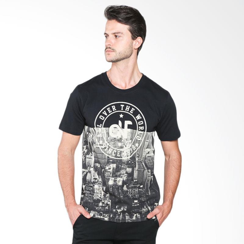 D&F Lover The World 03126059 T-shirt Pria - Black Extra diskon 7% setiap hari Extra diskon 5% setiap hari Citibank – lebih hemat 10%