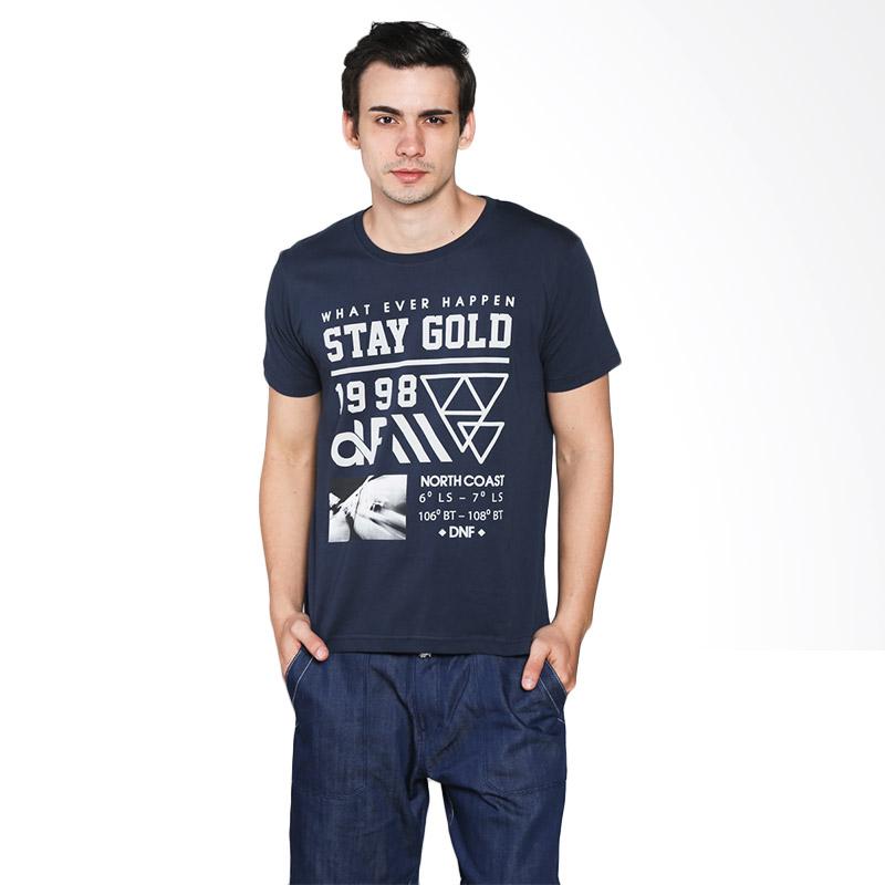 D&F 03126031 T-shirt What Ever Happen Atasan Pria - Navy Extra diskon 7% setiap hari Extra diskon 5% setiap hari