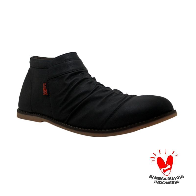 D-Island Shoes Wrinkle Sepatu Pria - Brown