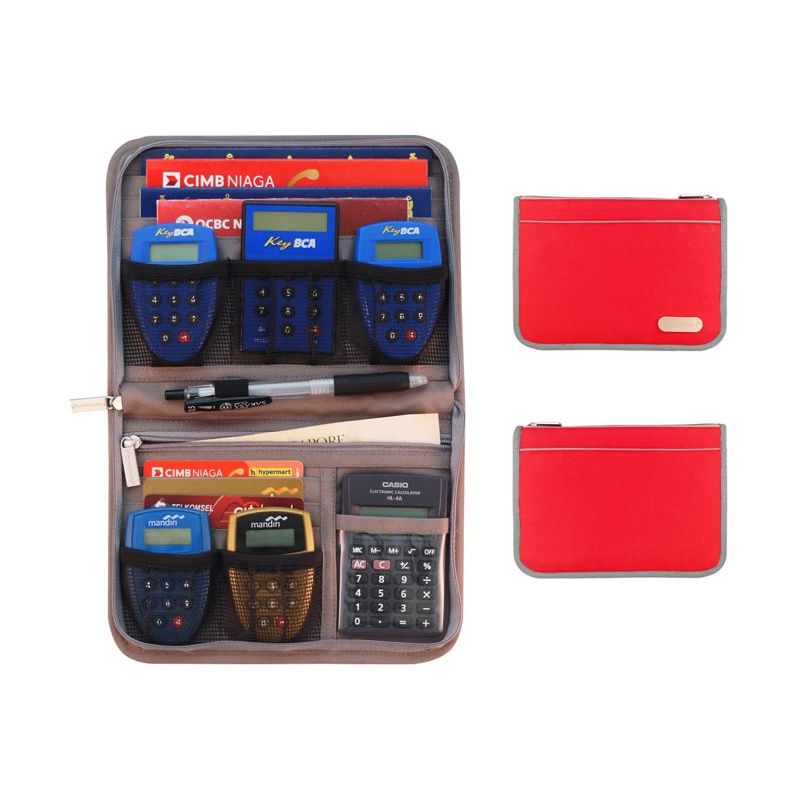 D'renbellony Light Red Banking Kits Organizer [BKO Light]