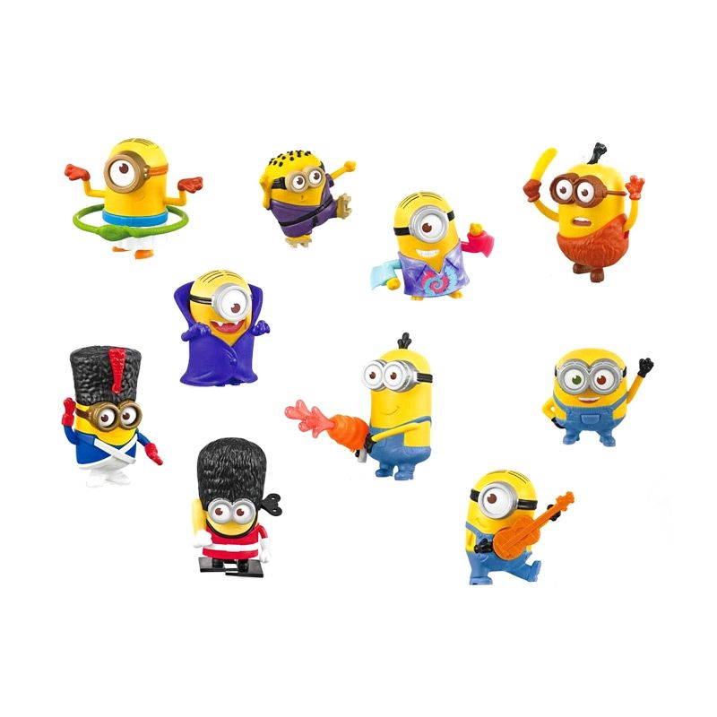 Minions 2015 Complete Set Action Figure
