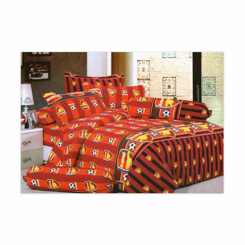 KELILAH Bed Cover (Single Size) - Arsenal