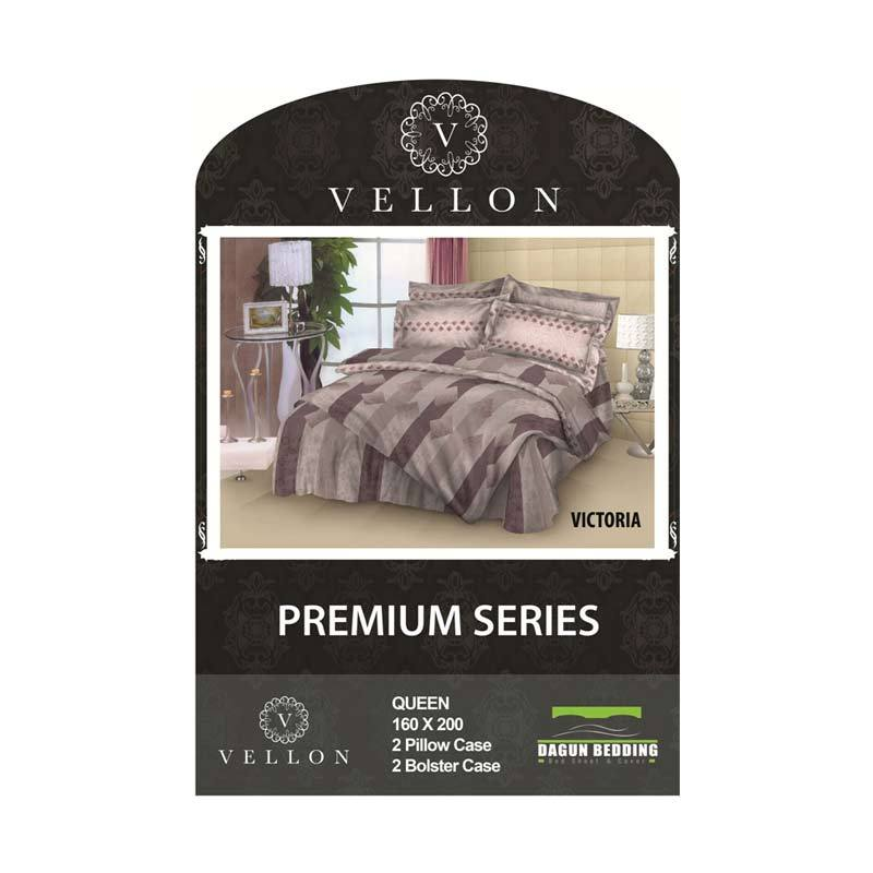 VELLON Bed Sheet (Queen Size) - Victoria