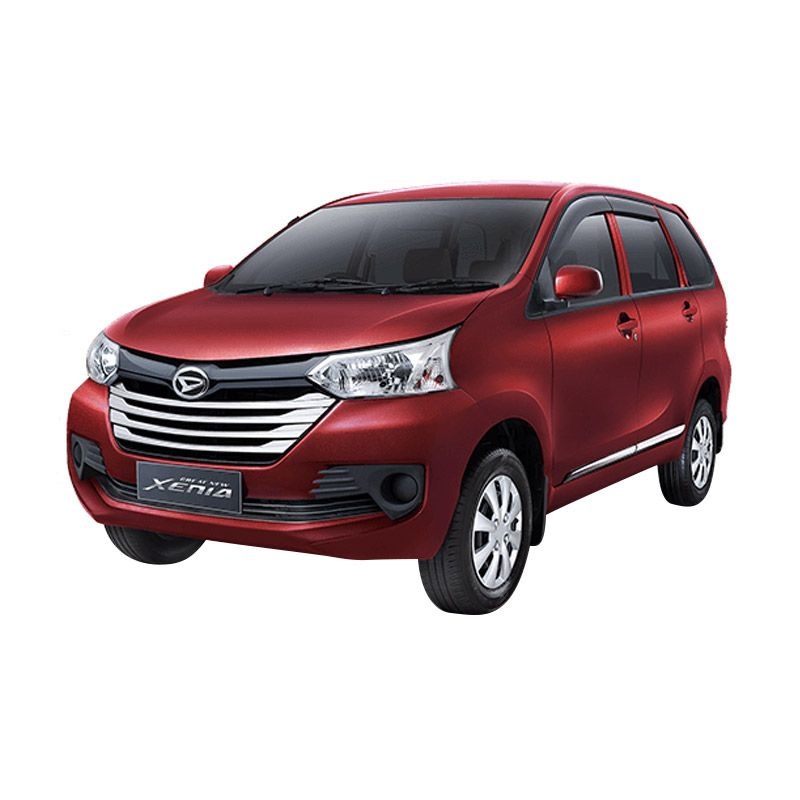 Daihatsu Great New Xenia M MT 1.0 STD Dark Red Metallic Mobil