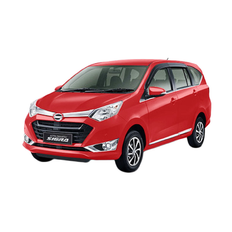 Daihatsu Sigra 1.0 D M-T Mobil - Red Solid