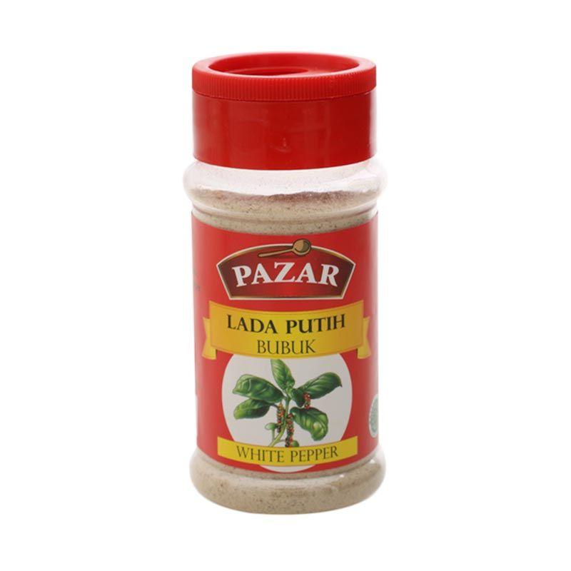 PAZAR Lada Putih Bubuk Bumbu Masak [65 gram]