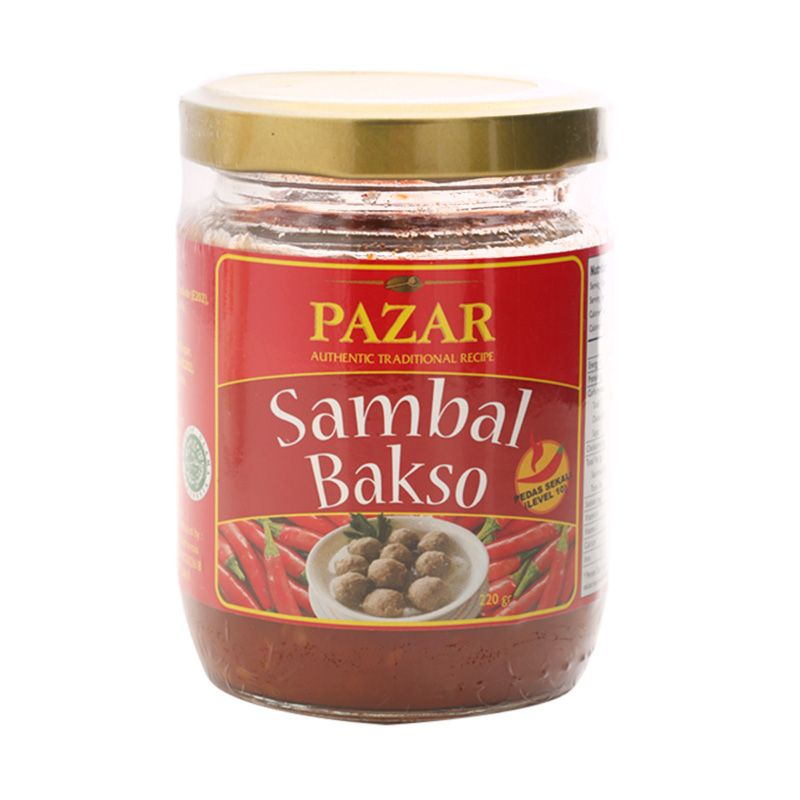 PAZAR Sambal Bakso Bumbu Masak [220 gram]