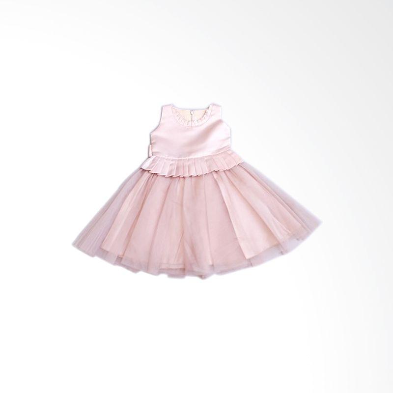 Dandelion Brown Dress Anak