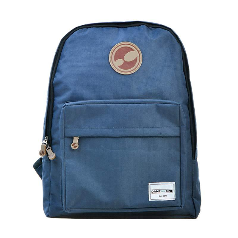 Dane And Dine Class Navy Backpack Tas Ransel