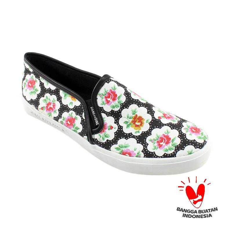 Dane And Dine Fast Rose Sepatu Wanita - Black