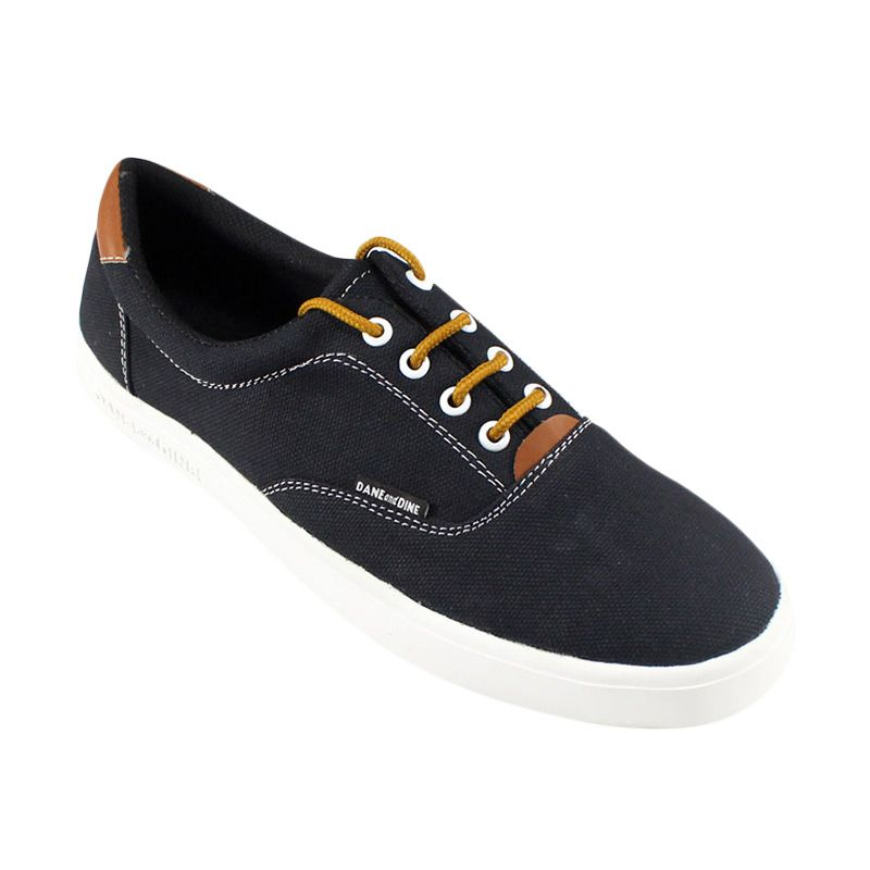 Dane And Dine Oland Oxford Shoes - Black