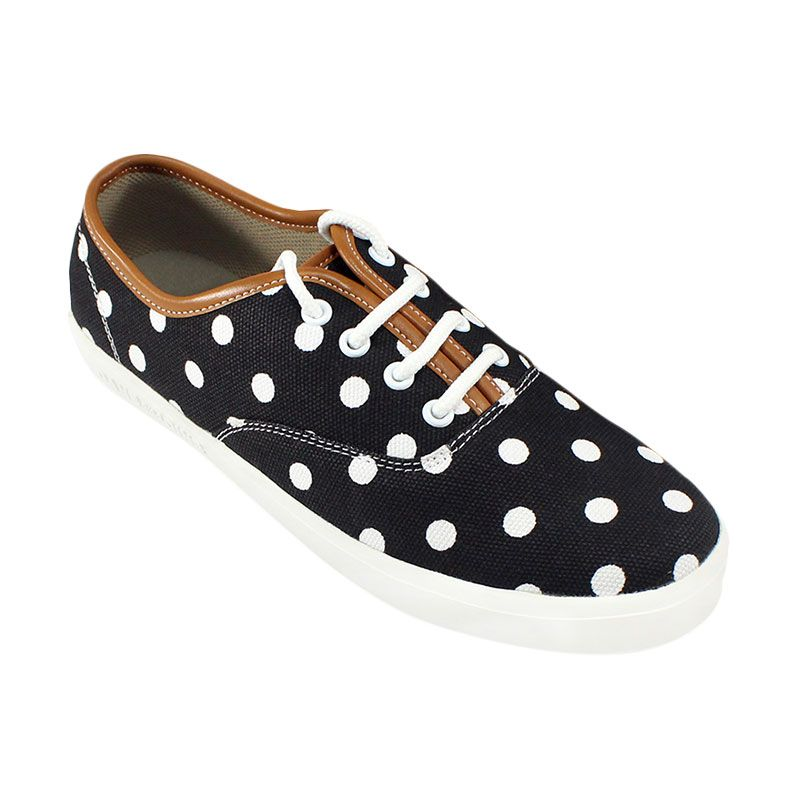 Dane And Dine Oland Girl - Black Polkadot