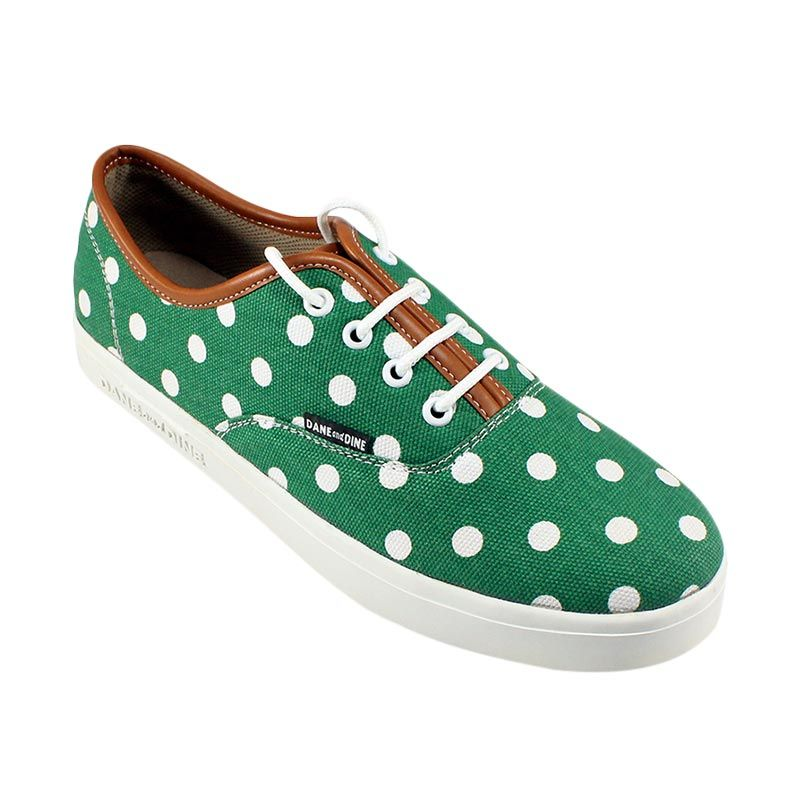Dane And Dine Oland Girl - Green Polkadot