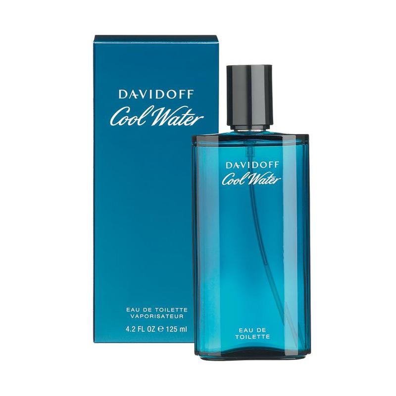 Davidoff Cool Water Man EDT Parfume Pria 125 mL