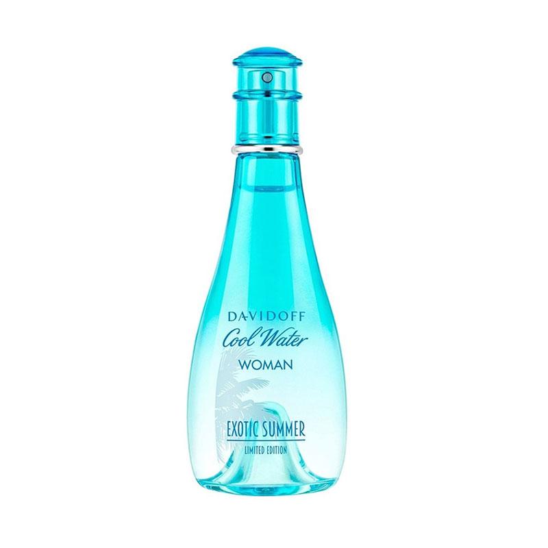 Davidoff Cool Water Woman Exotic Summer EDT Parfum Wanita