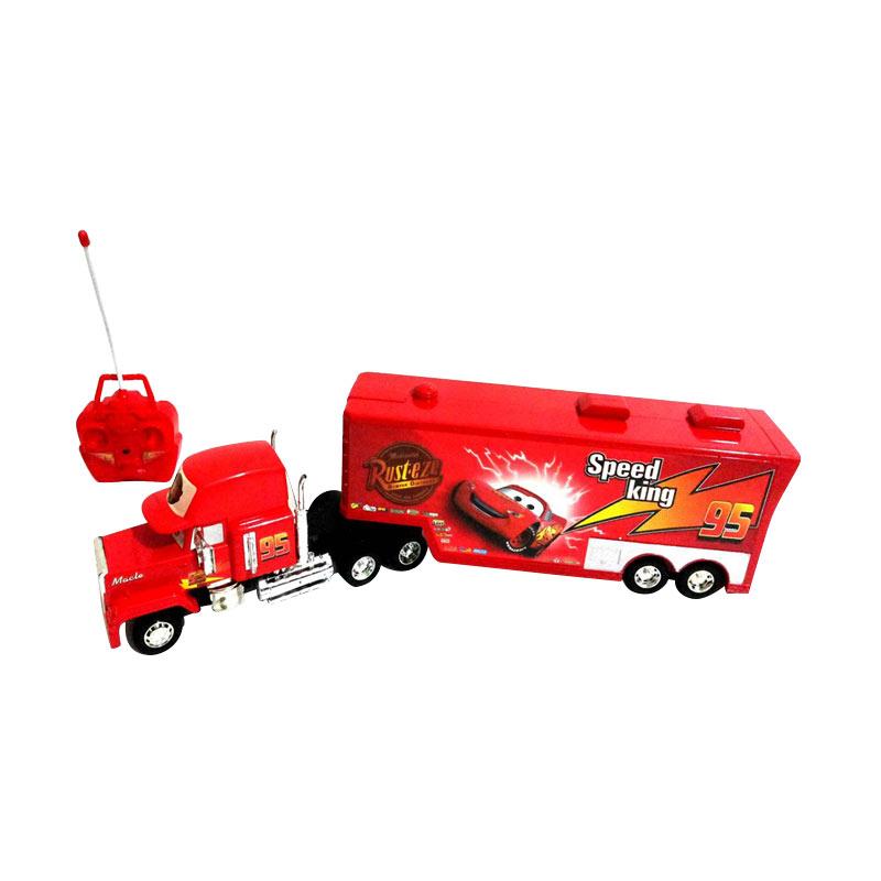 harga Daymart Toys Remote Control Cars Mack Trailer Truck Mainan Anak Blibli.com
