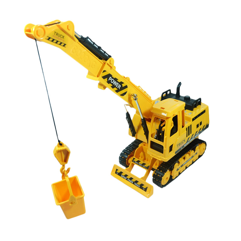 Remote Control Construction Toys : Jual daymart toys remote control construction truck crane