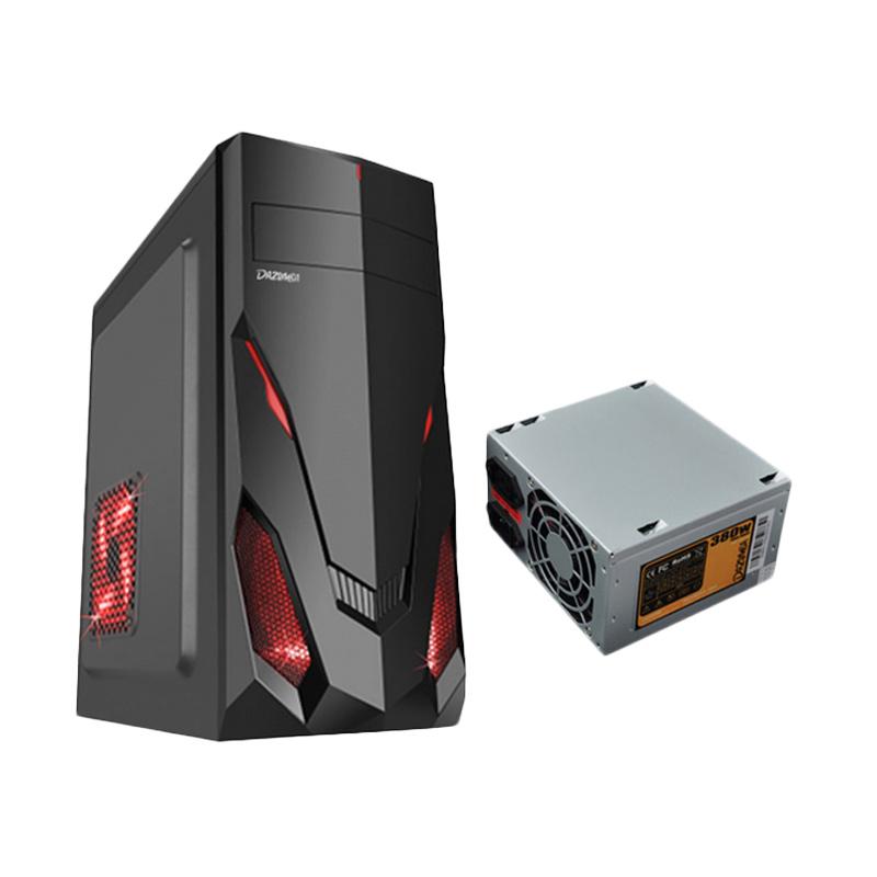 Dazumba DE-130 Personal Casing Komputer + Power Supply Dazumba PS-380W