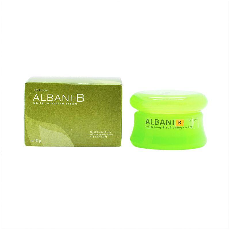 harga DeBiuryn Albani B l Intensive Whitening Face Cream Treatment l Perawatan Flek dan Noda [