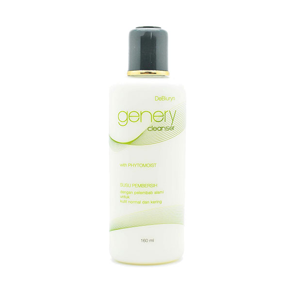 DeBiuryn Genery Cleanser l Susu Pembersih Wajah l Face Milk Cleanser l Kulit Normal l Kering l Sensitif [ 150 mL ]