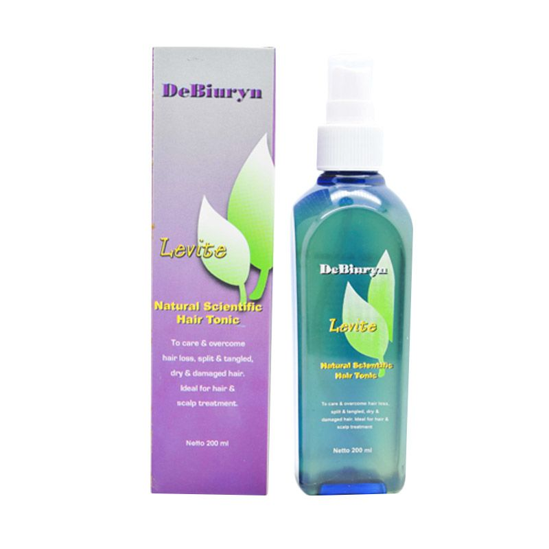 DeBiuryn Levite Hair Tonic l Tonik Rambut Rusak Kering Kusut l Detangle Hair Treatment Tonic [ 200 mL ]