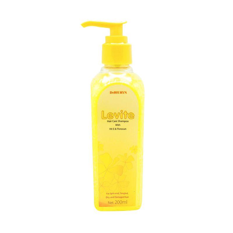 DeBiuryn Levite Shampoo l Sampo Rambut Kering Rusak Kusut - Detangle Hair Treatment Shampo [ 200 mL ]