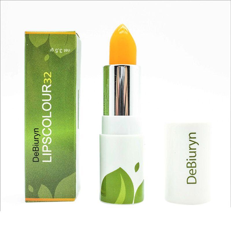 DeBiuryn Lipscolour 32 l Lipstick with Moisturizer l Pelembab + Vit.E [ 3.5 g ]