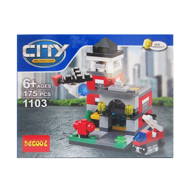 Decool 1103 Fire Station City