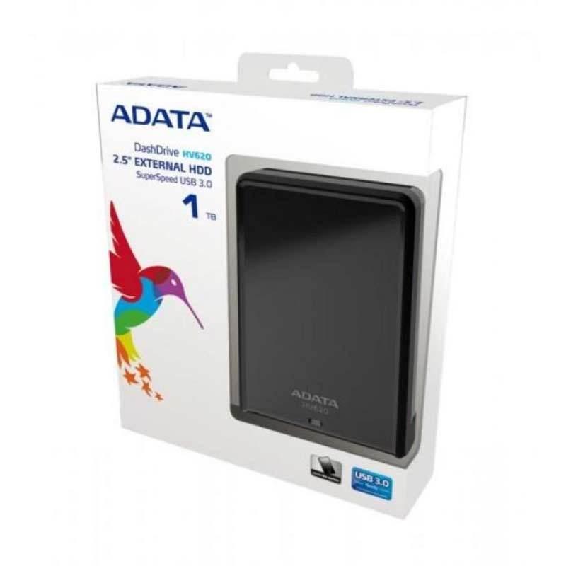 ADATA Slim Design PHD 3.0 HV620 Black Harddisk [1 TB]