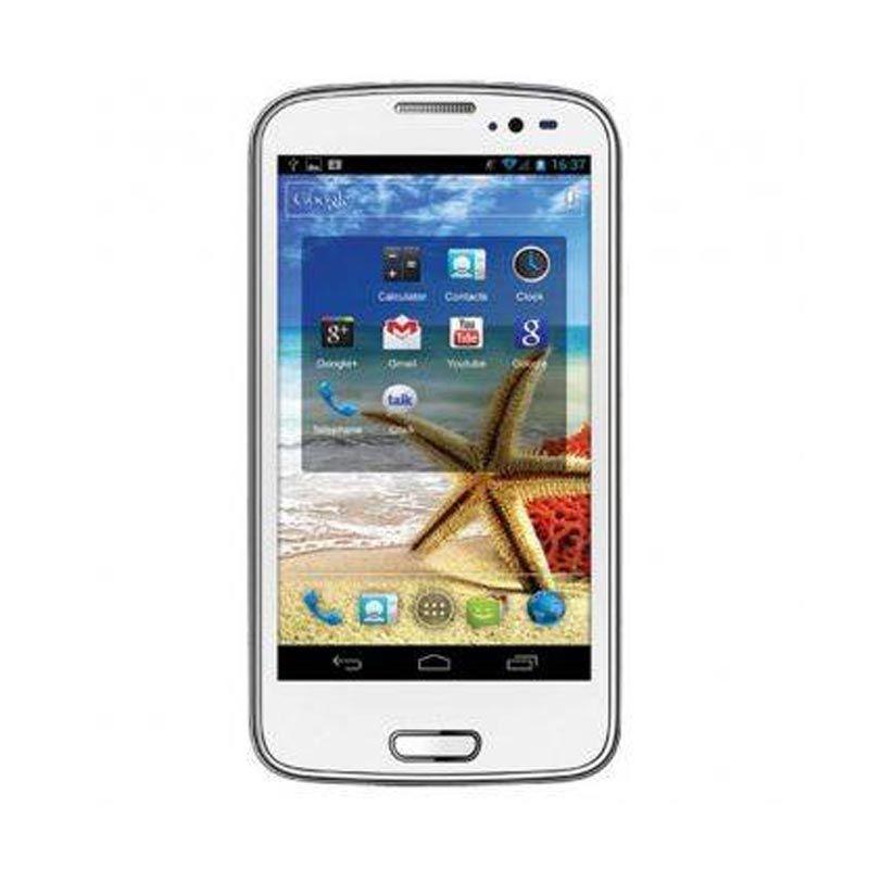 Advan S5E Pro White Smartphone