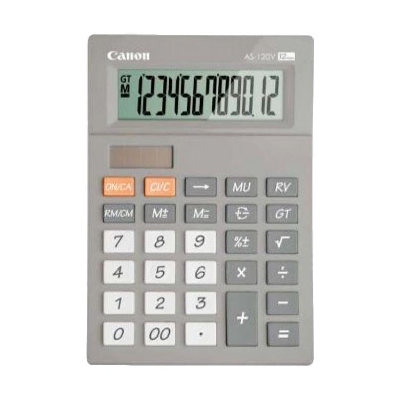 Canon AS 120V PPP Grey Kalkulator [12 Digit]