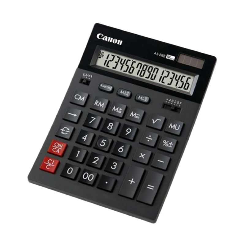 CANON AS 220 RTS Abu-abu Tua Kalkulator