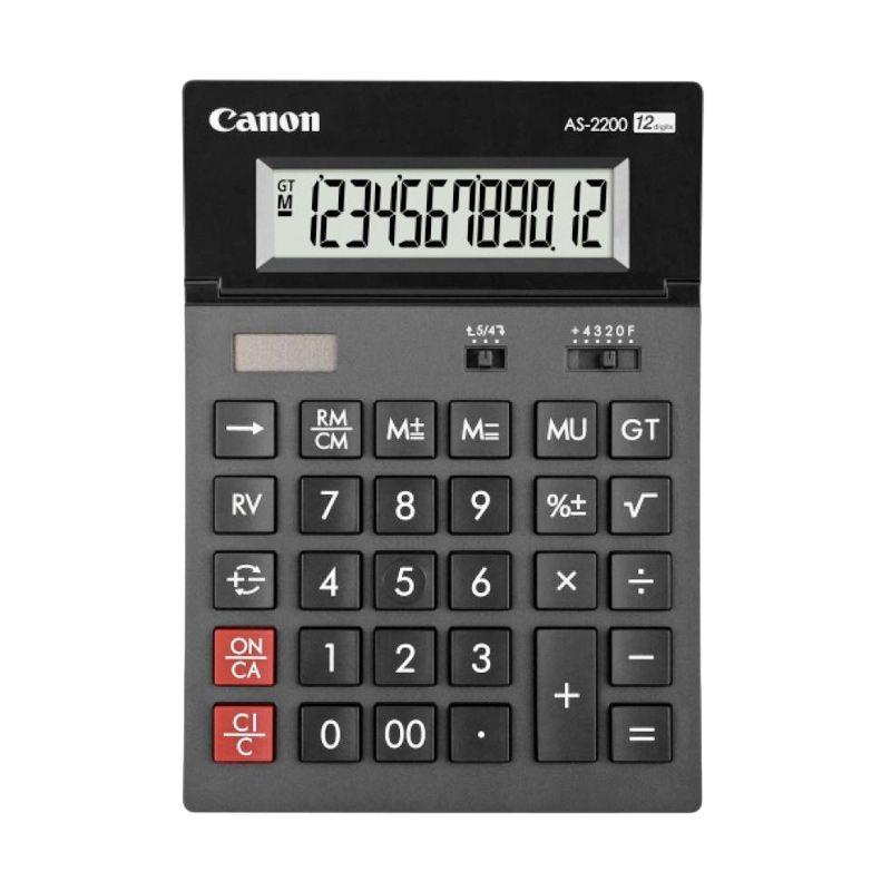 Canon AS-2200 Abu-Abu Tua Kalkulator