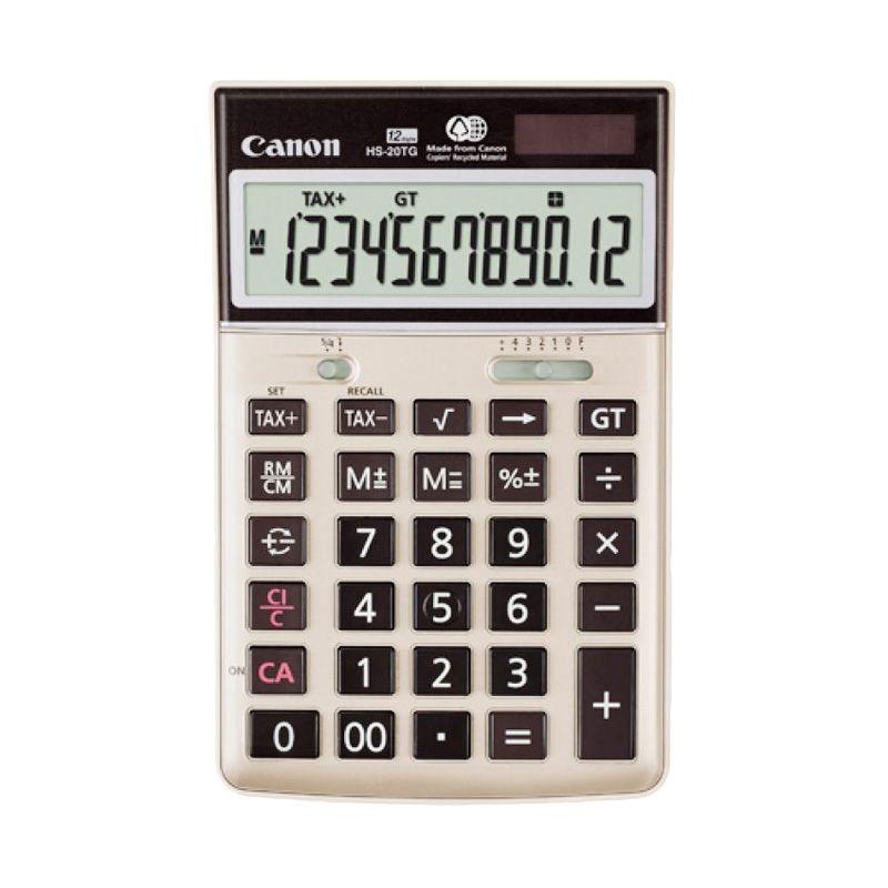 Canon HS-20TG Emas Kalkulator